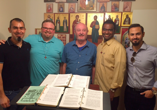Visit with Fr. Daimon Geiger