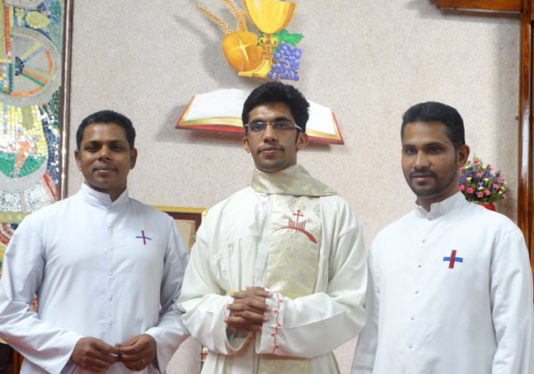 Minor Orders of Br. Rinto Mathew