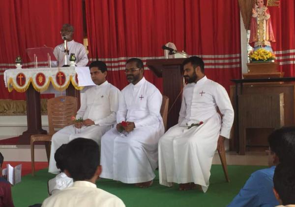 Fr. Meby, Parish Priest @ Hosangadi Parish