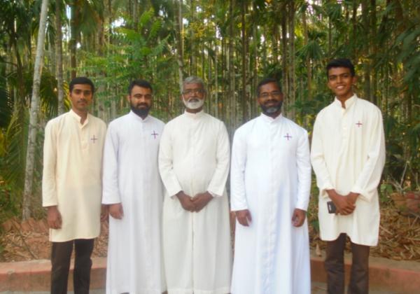 Visit of Fr. George, Vicar General