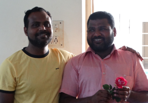 Visit of Fr. Shinu Mathew, O.SS.T.