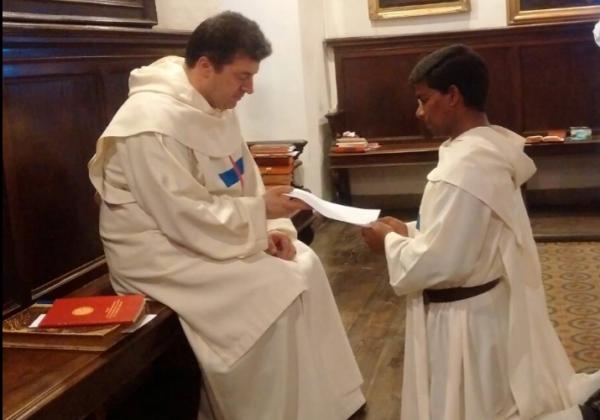Renewal of Vows - Bro. Vinay Kumar