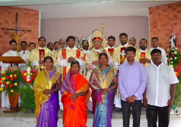 Diaconate of Bro. Vinay Kumar O.SS.T.