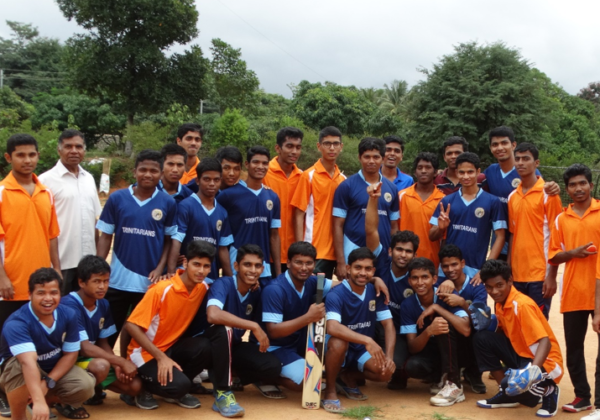 Inter-Sem Match with Sacred Heart Brothers