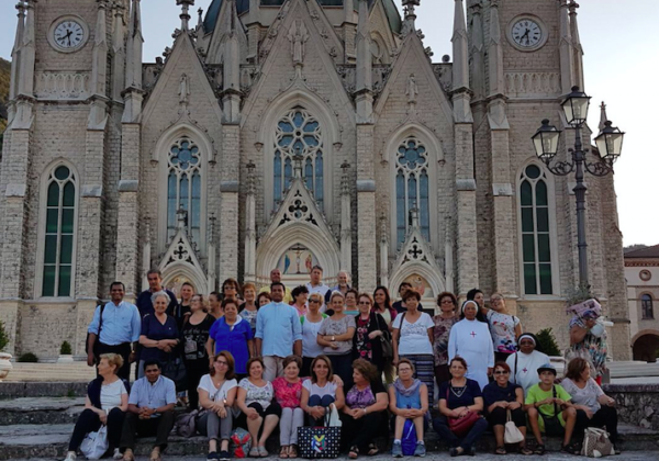 Pilgrimage to Basilica dell'addolorata