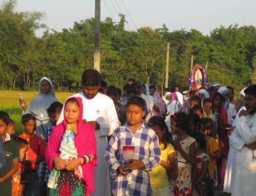 Rosary Procession, Tamulpur Mission