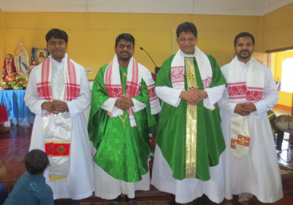 Installation of Fr. Biju, O.SS.T. as Parish Priest