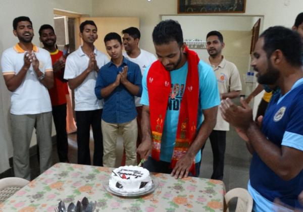 Birthday of Bro. Diljo Achandy