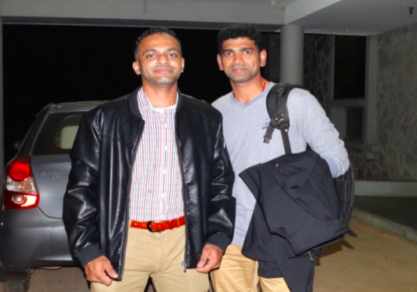 Travel of Bros. Diljo and Saneesh to Rome