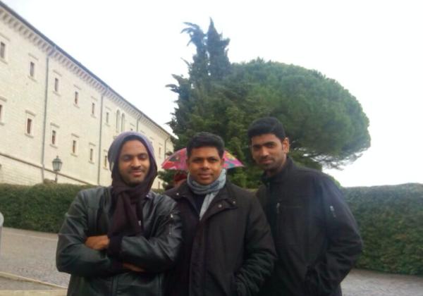 Visit of Bors. Diljo and Saneesh
