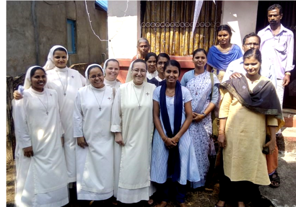 Visit with Sr. Simin's Family