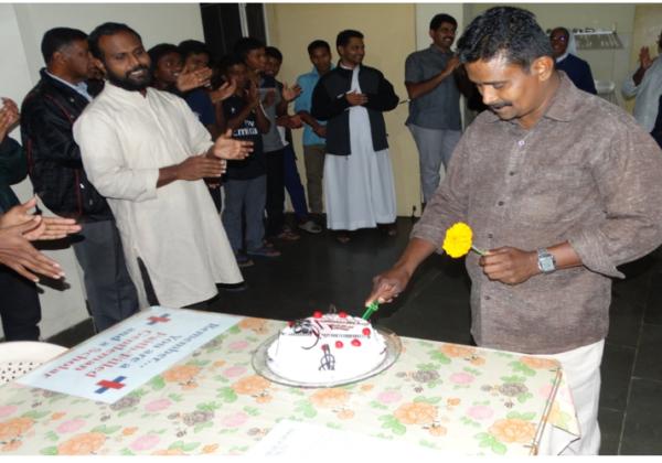 Birthday of Mr. Sudhakaran