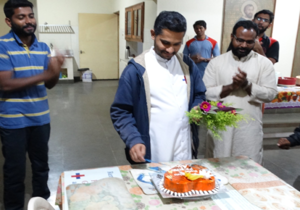 Silver Jubilee wishes to Fr. Bitaju