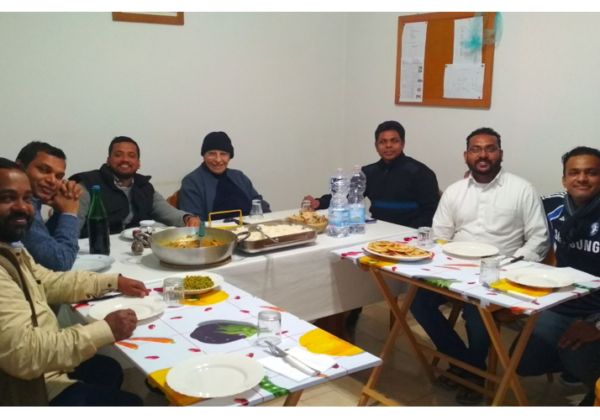 Visit of Trinitarians from India