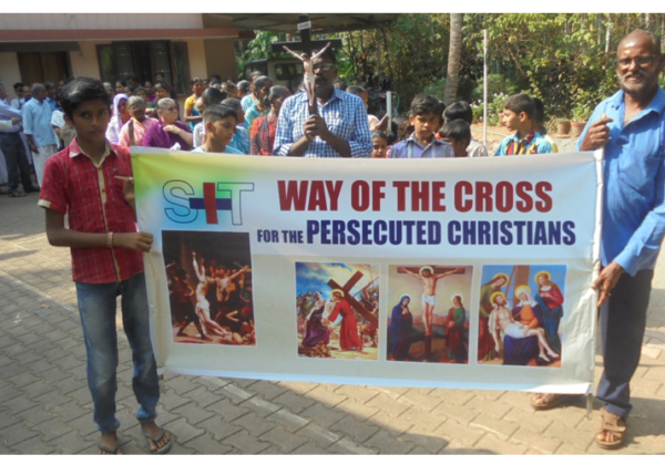 Stations of the Cross for the Persecuted Christians