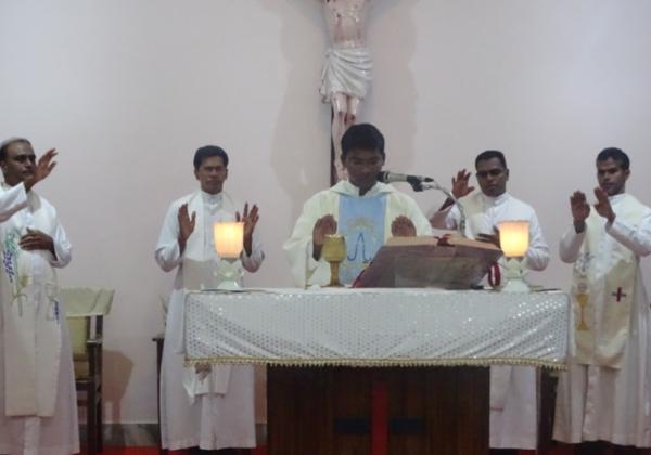 Reception to Fr. Vinay Kumar