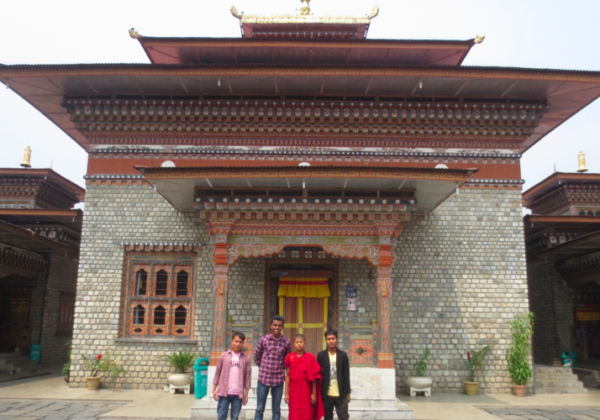 Outing to Bhutan with new Vocations