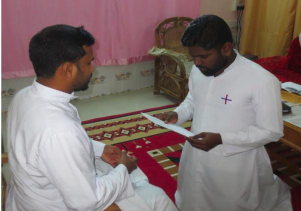 Renewal of Vows of Br. Prakash