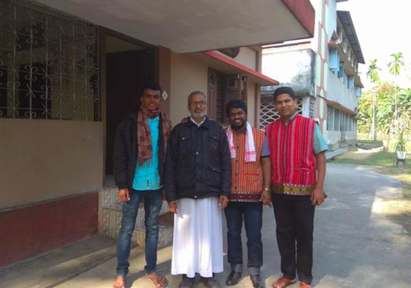 Fr. Binoj's Visit to Assam