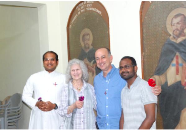 Visit of Fr. Santhosh with Third Order Members
