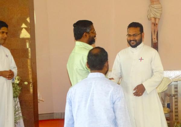 Best Wishes to Fr. Jins V.D.