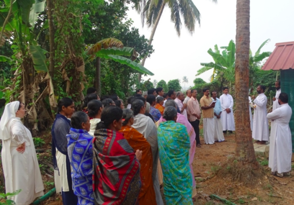 Blessing of the Land for Mercy Home
