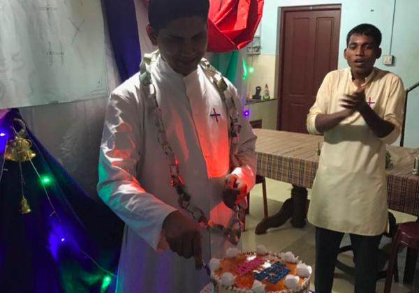 Birthday of Fr. Binoj