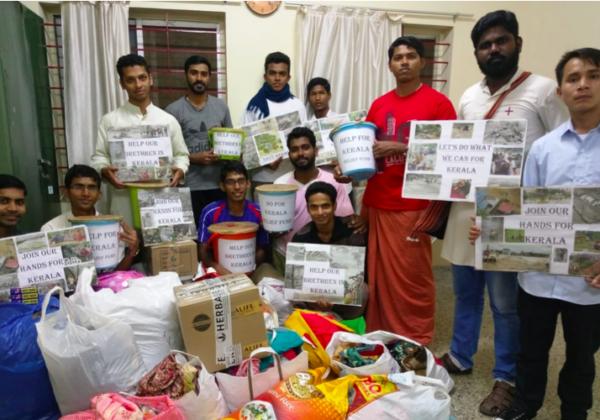 Trinitarians @ Kerala Flood Relief