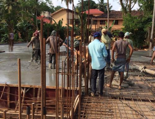 Mercy Home Work Progress, Oct. 2018