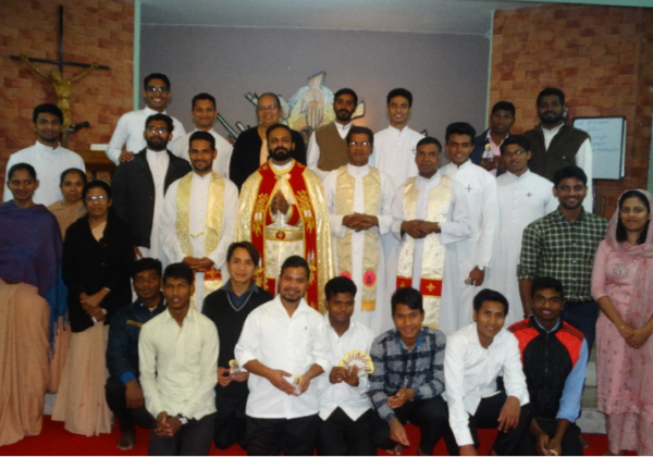 Congratulations to Fr. Diljo Achandy
