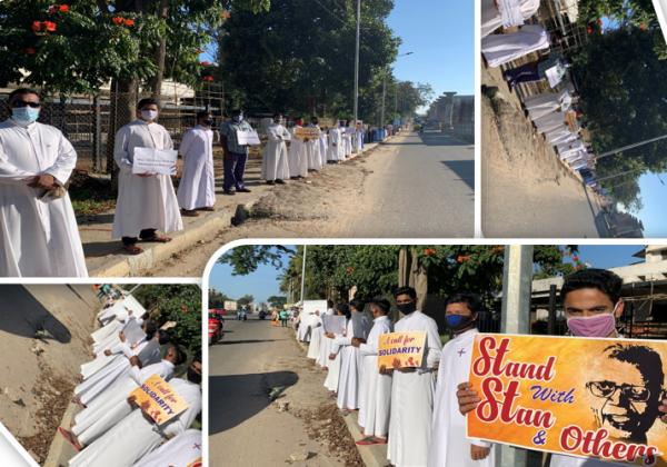 Stand with Fr. Stan Swami SJ