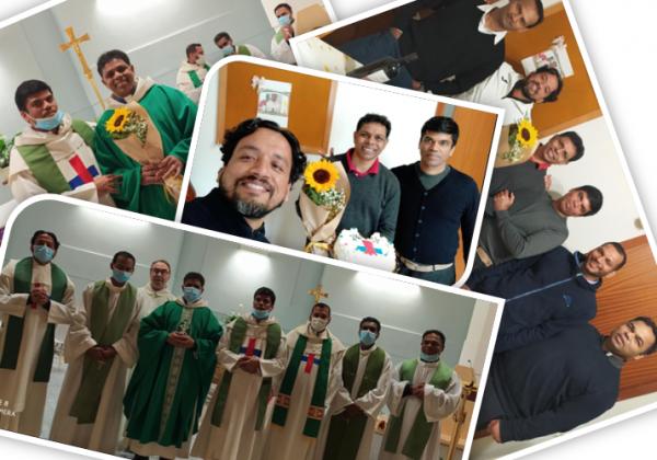 Silver Jubilee of Fr. Simine G Fernandez