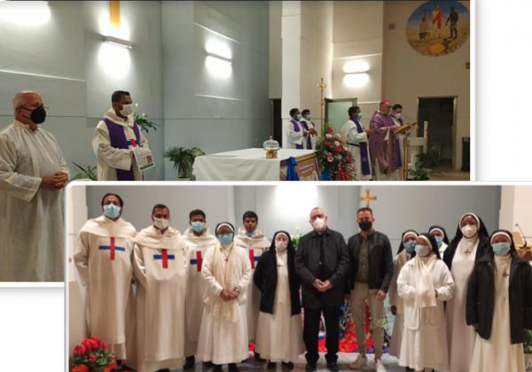 Visit of Archbishop Luigi Vari
