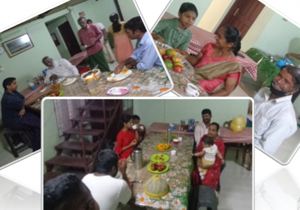 Farewell: Visit of neighboring families