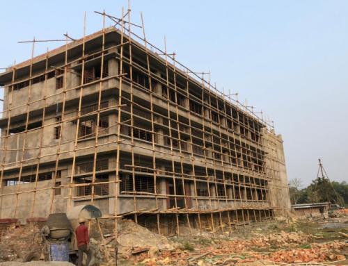 Construction progress