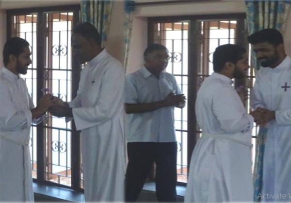 Congratulations to Fr. Franco TOR
