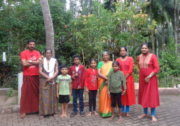 Visit of Family of Mr. Thankachan