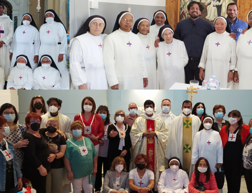 With Trinitarian third order members and sisters – Italy