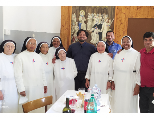 With Trinitarian Sisters in Italy