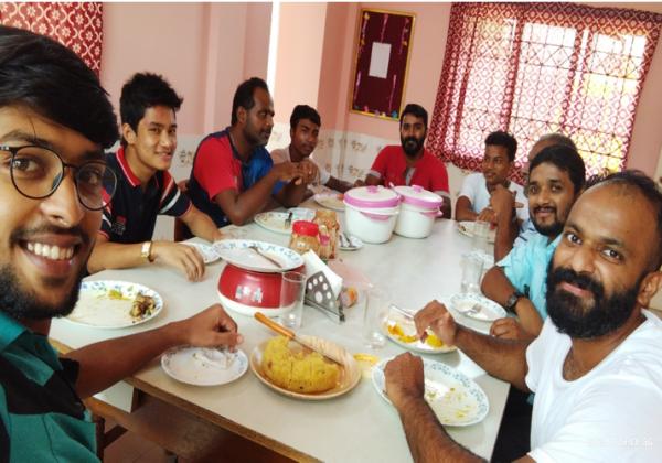 Visit of O. Prem Community