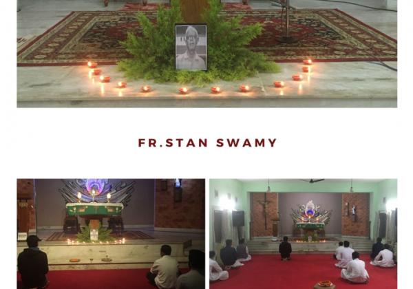 Memorial of Fr. Stan Swamy SJ