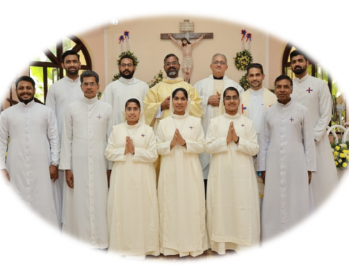 Trinitarian Sisters – first profession