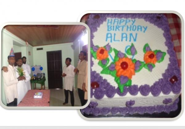 Happy birthday to Bro. Alan Ouseph